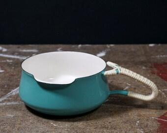 QUISTGAARD Kobenstyle Saucepan Collectors Item Mint Turquoise Enamelware Tableware Scandinavian Design Danish Cookware 4 Ducks IHQ & Danish tableware | Etsy