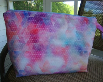 "Knitting/Project Bag Hoffman of California Fabric 14""x10"""