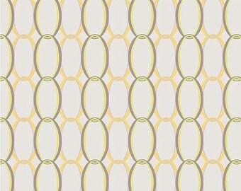 SALE !!! Riley Blake Designs Ashbury Heights Curtain Gray 1 Yard