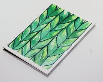 Knitters Notebook - Greens