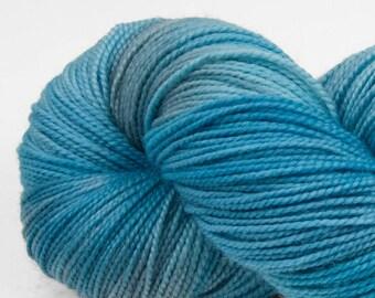 Handpainted Yarn, Superwash Merino & Nylon, Welcome, Fingering Weight, Calcite Springs, 100g
