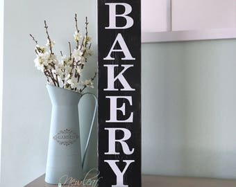 BAKERY Sign - Bakery Decor - Kitchen Decor - Bakery - Kitchen Sign - Country Home Decor - Rustic Decor - Handpainted Signs