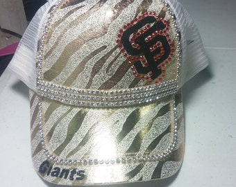 Ladies Bling Baseball Hat
