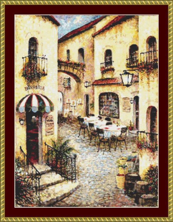 Buon Appetito I Cross Stitch Pattern /Digital PDF Files /Instant downloadable