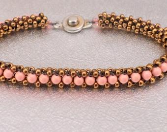 beadwork bracelet pearl