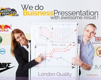PowerPoint Proffesional Design Branding Marketing Logo