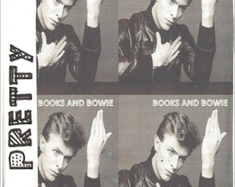 Pretty Zine PDF Issue 3 Books and Bowie- handmade zine with collages, writing, fashion and music