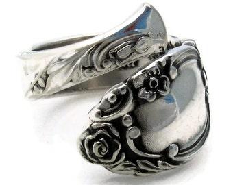 Spoon Ring Wrapped Ballad Demitasse Sizes 5 - 8