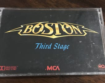 Boston Third Stage Cassette tape