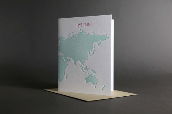 World Map Love From...