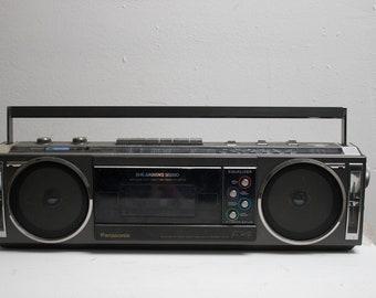 Retro Panasonic boom box
