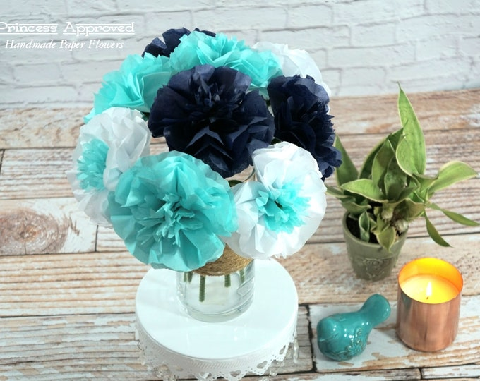 Summer Blues Bouquet (9 flowers)