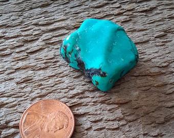 Vintage Arizona Turquoise Nugget Bead