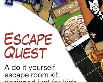 Game room etsy nz kids escape room party kit solutioingenieria Image collections