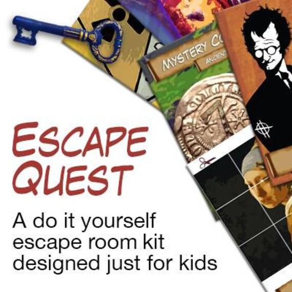 Kids escape room party kit solutioingenieria Choice Image