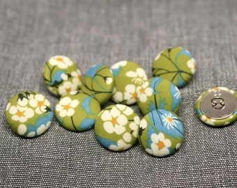 Liberty of London Mitsi Fabric Covered Buttons