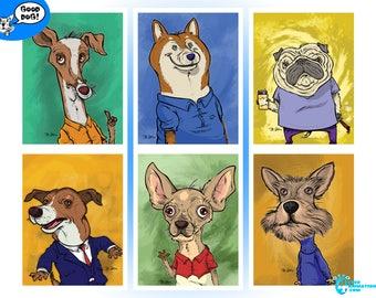 4 Eyed Cards Good Dog! Series