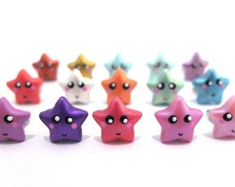 Twinkle*Star clip-on earring for children pair