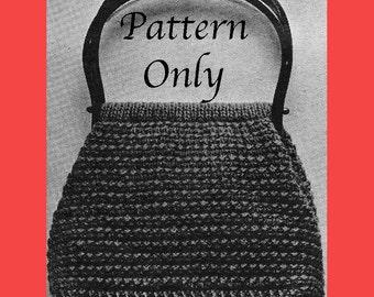 1968 Knitted Purse Pattern