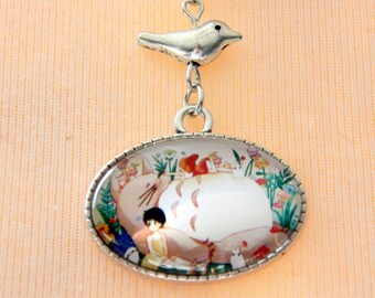 My neighbor Totoro Anime Necklace Jewelry