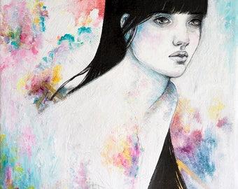Immerse A3 art print