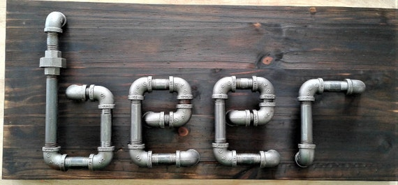 Pipe Beer Sign - Just put it out there. Say it. Beer.