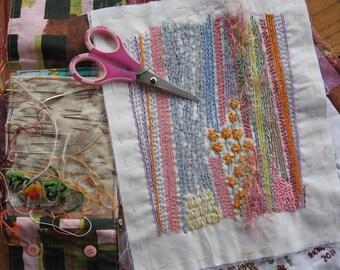 Summer Lines Embroidery Sampler