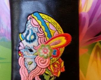Sugar Skull custom pipe pouch