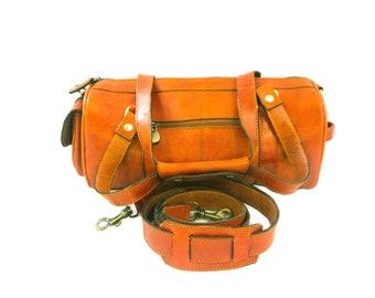 Mini Explorer Voyager Leather Bag