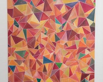 Original Geometric Abstract (Multi-Color)