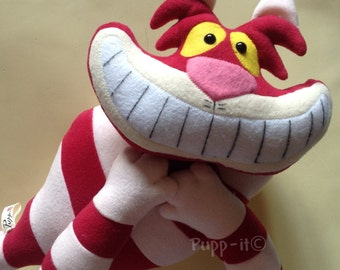 Peluche Cheshire Cat the Alice in Wonderland -