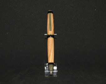 Apricot 24kt Gold Plated Cigar Twist Pen