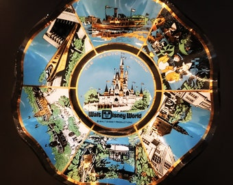 Vintage Walt Disney World Dish