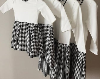 Matching dress, mother and daughter, matching style, family outfits, mother and little girl, dresses for mom and girls