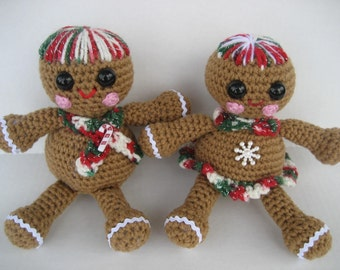 Gingerbread Babes Crochet Pattern