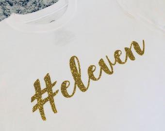 eleven birthday shirt