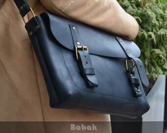 Leather Messenger Bag + Leather Crossbody Bag +  Handmade bag + Leather Handbag + Leather Shoulder Bag + Cross Body Bag + Camera Bag