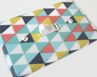 RETRO TRIANGLES Light Switch Cover Plate Switchplate Retro Decor Mid Century Modern Decor