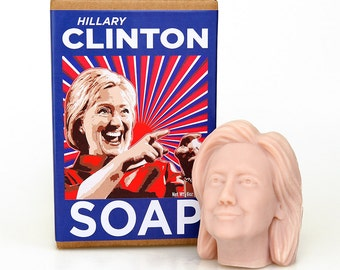 Hillary Clinton Soap Head