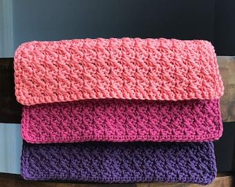 Housewarming Gift - Crochet Washcloth Set - Crochet Dishcloths - Modern Kitchen Decor - Kitchen Towels - Knit Dishcloth - Cotton Dishcloth