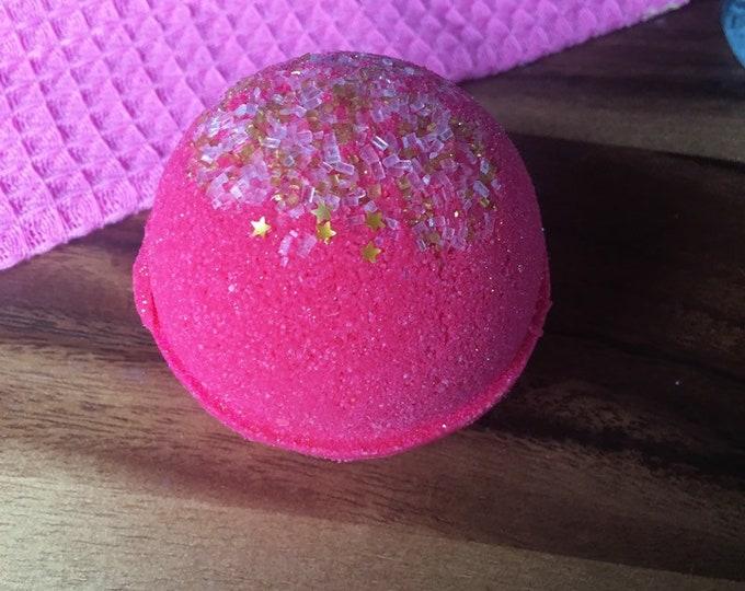 Peach Bellini Bath Bombs Bath Vegan Bath Bomb Natural Bath Fizzy