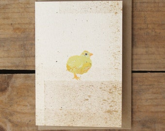 Speckled Chick Card