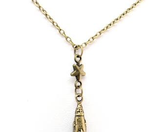 Rocket to the Stars Necklace