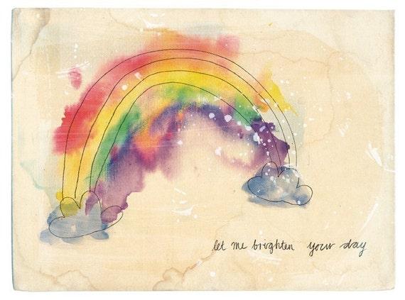 Brighten Your Day Wall Art Print - kids decor