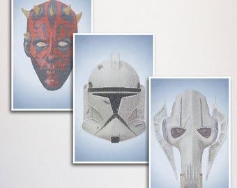 Star Wars Prequel Poster Set
