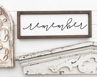 """Family Home Wood Sign 