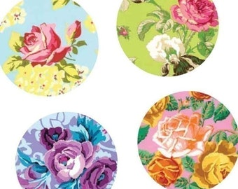 Rare Vintage Rose - One Inch (25mm) Round Collage Images -Digital Sheet -Automatic Download -Digital Download -Bottle Cap - Buy 2 Get 1 Free