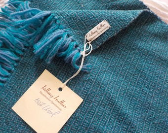Hillary Hutton Hand woven Wool Scarf or Wrap