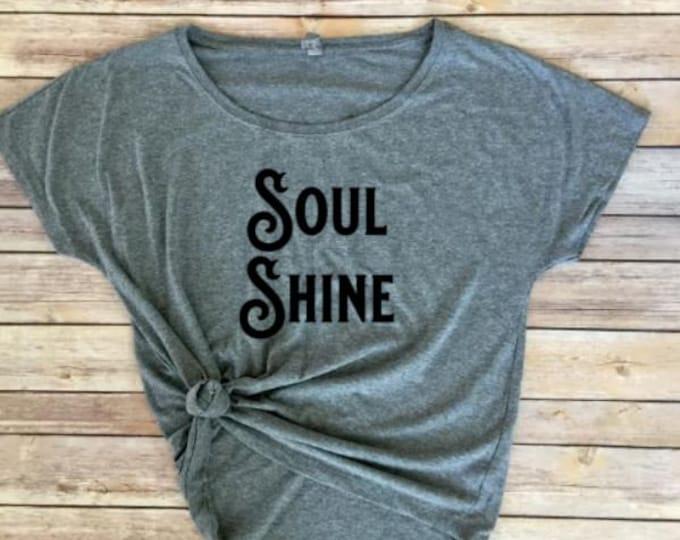 Soul Shine Women's Shirt-Soulshine Women's Shirt- Women's Shirt- Shirt for Women- Allman Brothers Shirt- Clothing for Women-Women's Clothing