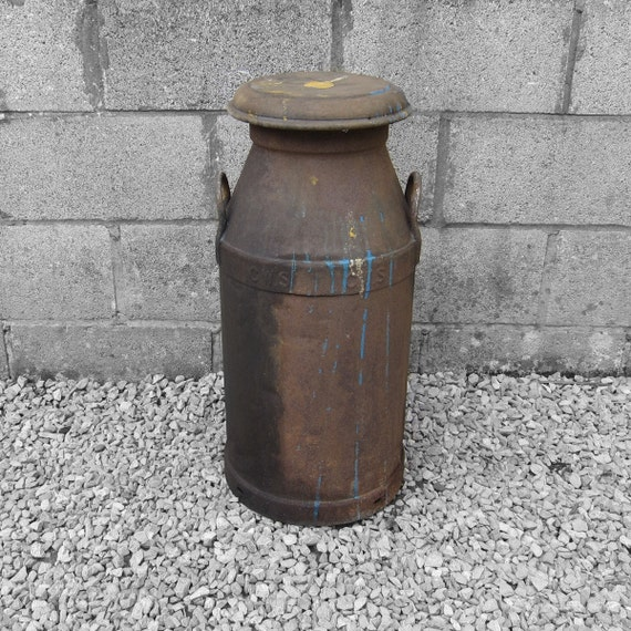 Milk Churn Rusty Patina Great Garden Wedding Dispaly Item